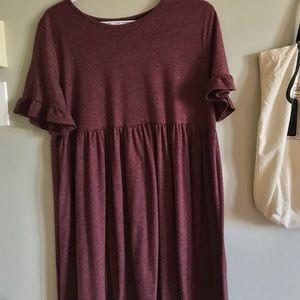 Oversized dress from Shein